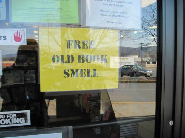 free old book smell
