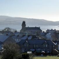 Wigtown seen from the hill above